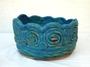 Mayaskål 3 - turkis