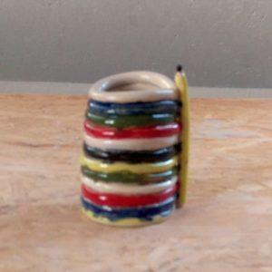 Elevarbejde - blyantsholder i klare farver