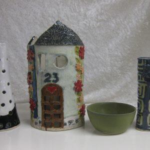 Svanfolk Keramik kursus - Elevarbejder