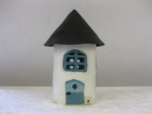 Keramikhus - model Hobbit 1, høj