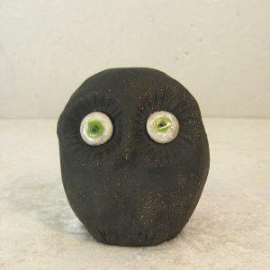 Keramikfigur - Ugle